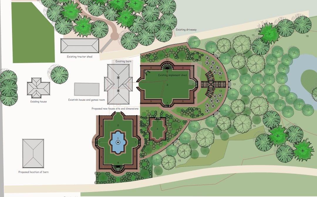 Design Northwest English Manor Garden